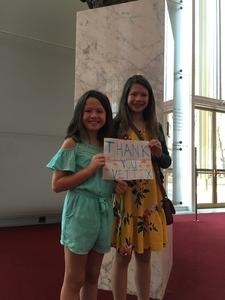 Toby attended The Washington Ballet Presents TWB Welcomes - Sunday Matinee on Sep 30th 2018 via VetTix