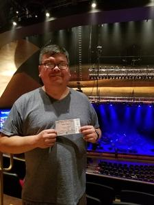 Soontorn attended Modest Mouse on Oct 6th 2018 via VetTix
