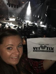 Kevin attended Keith Urban: Graffiti U World Tour on Sep 27th 2018 via VetTix