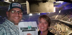Steven attended Keith Urban: Graffiti U World Tour on Sep 27th 2018 via VetTix