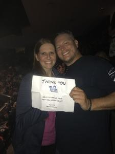 Tracie attended Keith Urban: Graffiti U World Tour on Sep 27th 2018 via VetTix