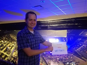 Ramond attended Keith Urban: Graffiti U World Tour on Sep 27th 2018 via VetTix