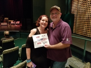 Jimmy attended John Oates and the Good Road Band on Sep 26th 2018 via VetTix