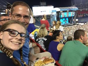 Michael attended Ed Sheeran: 2018 North American Stadium Tour - Pop on Oct 6th 2018 via VetTix
