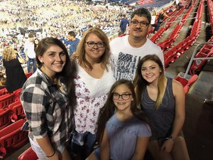 Kimball McAfee and family attended Ed Sheeran: 2018 North American Stadium Tour - Pop on Oct 6th 2018 via VetTix