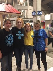 John attended Ed Sheeran: 2018 North American Stadium Tour - Pop on Oct 6th 2018 via VetTix