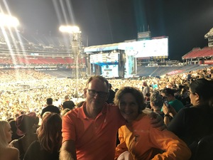 Barbara attended Ed Sheeran: 2018 North American Stadium Tour - Pop on Oct 6th 2018 via VetTix