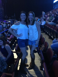 Ian attended Brett Eldredge: the Long Way Tour - Country on Oct 4th 2018 via VetTix