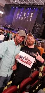 Joshawa attended Brett Eldredge: the Long Way Tour - Country on Oct 4th 2018 via VetTix