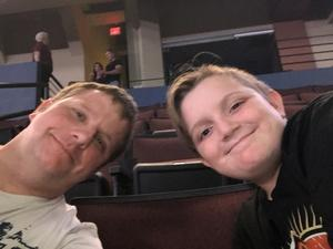 Michael attended Brett Eldredge: the Long Way Tour - Country on Oct 4th 2018 via VetTix