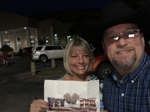Jonathan attended Brett Eldredge: the Long Way Tour - Country on Oct 4th 2018 via VetTix