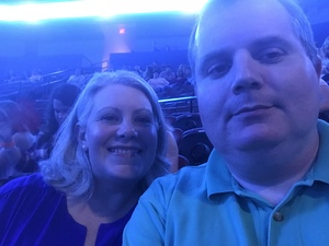 Warren attended Brett Eldredge: the Long Way Tour - Country on Oct 4th 2018 via VetTix