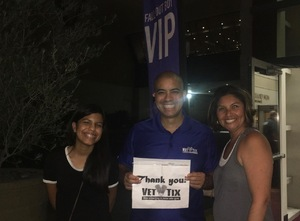 Anthony attended Fall Out Boys on Sep 28th 2018 via VetTix