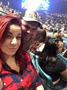 Parker attended Fall Out Boys on Sep 28th 2018 via VetTix