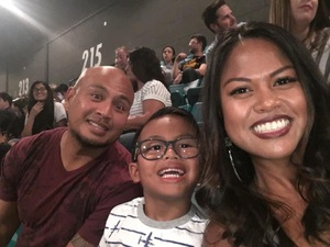 Charles attended Fall Out Boys on Sep 28th 2018 via VetTix