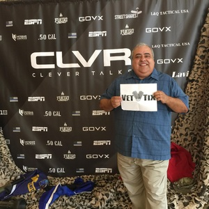 Marc attended Clever Talks: Made in America Vet Tix Exclusive on Oct 11th 2018 via VetTix