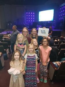 Ryan attended Big Church Night Out on Oct 12th 2018 via VetTix