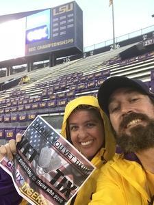 David attended LSU Tigers vs. Ole Miss - NCAA Football on Sep 29th 2018 via VetTix
