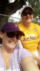 A attended LSU Tigers vs. Ole Miss - NCAA Football on Sep 29th 2018 via VetTix
