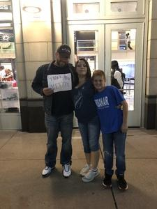 Michael attended Dallas Mavericks vs. Beijing Ducks - NBA on Sep 29th 2018 via VetTix