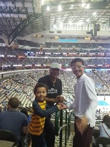Dennis attended Dallas Mavericks vs. Beijing Ducks - NBA on Sep 29th 2018 via VetTix