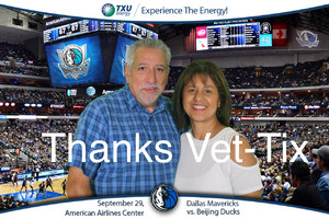 Jerry attended Dallas Mavericks vs. Beijing Ducks - NBA on Sep 29th 2018 via VetTix