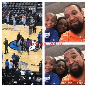 Damani attended Dallas Mavericks vs. Beijing Ducks - NBA on Sep 29th 2018 via VetTix