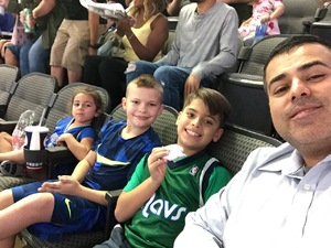Javier attended Dallas Mavericks vs. Beijing Ducks - NBA on Sep 29th 2018 via VetTix