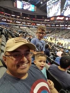 Alex D attended Dallas Mavericks vs. Beijing Ducks - NBA on Sep 29th 2018 via VetTix