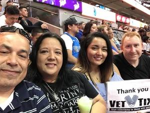 Marcus attended Dallas Mavericks vs. Beijing Ducks - NBA on Sep 29th 2018 via VetTix