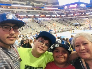 Mariela attended Dallas Mavericks vs. Beijing Ducks - NBA on Sep 29th 2018 via VetTix