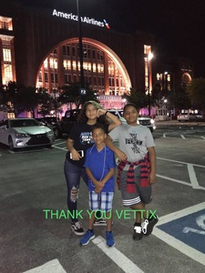 Isaiah attended Dallas Mavericks vs. Beijing Ducks - NBA on Sep 29th 2018 via VetTix