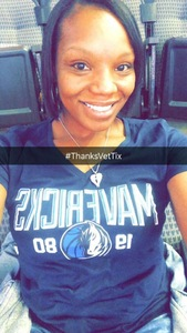 Dianna attended Dallas Mavericks vs. Beijing Ducks - NBA on Sep 29th 2018 via VetTix