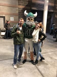 Scott attended Portland State University Vikings vs. Idaho State - NCAA Fooball on Nov 3rd 2018 via VetTix