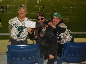 Smokie attended Portland State University Vikings vs. Idaho State - NCAA Fooball on Nov 3rd 2018 via VetTix