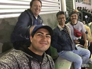 Atom attended Portland State University Vikings vs. Idaho State - NCAA Fooball on Nov 3rd 2018 via VetTix