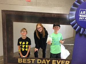 Jason attended Arizona State Fair Armed Forces Day - Tickets Are Only Good for Oct. 19 - *See Notes on Oct 19th 2018 via VetTix