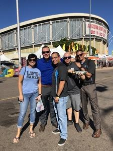 Tabitha attended Arizona State Fair Armed Forces Day - Tickets Are Only Good for Oct. 19 - *See Notes on Oct 19th 2018 via VetTix