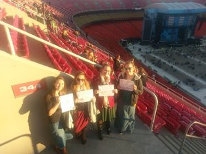 Abby attended Ed Sheeran: 2018 North American Stadium Tour - Pop on Oct 13th 2018 via VetTix
