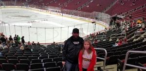 jeremy attended Arizona Coyotes vs. Buffalo Sabres - NHL on Oct 13th 2018 via VetTix