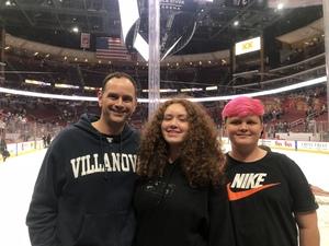 Scott attended Arizona Coyotes vs. Buffalo Sabres - NHL on Oct 13th 2018 via VetTix