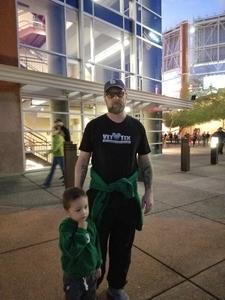 William attended Arizona Coyotes vs. Buffalo Sabres - NHL on Oct 13th 2018 via VetTix