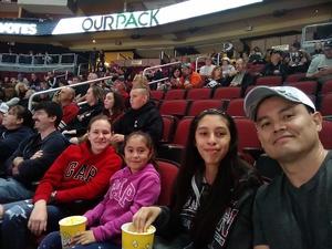 Rodolfo attended Arizona Coyotes vs. Buffalo Sabres - NHL on Oct 13th 2018 via VetTix