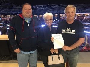 Alan attended Arizona Coyotes vs. Buffalo Sabres - NHL on Oct 13th 2018 via VetTix
