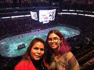 Janice attended Arizona Coyotes vs. Buffalo Sabres - NHL on Oct 13th 2018 via VetTix