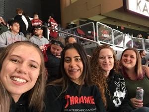 Tawny attended Arizona Coyotes vs. Buffalo Sabres - NHL on Oct 13th 2018 via VetTix
