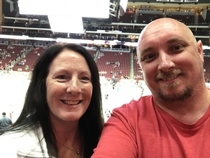 Keith attended Arizona Coyotes vs. Buffalo Sabres - NHL on Oct 13th 2018 via VetTix