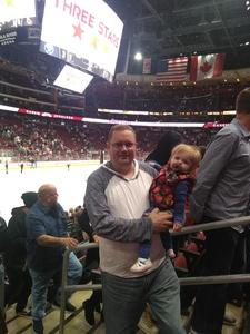 Joseph Fortenberry attended Arizona Coyotes vs. Buffalo Sabres - NHL on Oct 13th 2018 via VetTix