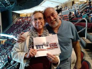 Bruce attended Arizona Coyotes vs. Buffalo Sabres - NHL on Oct 13th 2018 via VetTix
