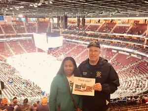 Howard attended Arizona Coyotes vs. Buffalo Sabres - NHL on Oct 13th 2018 via VetTix